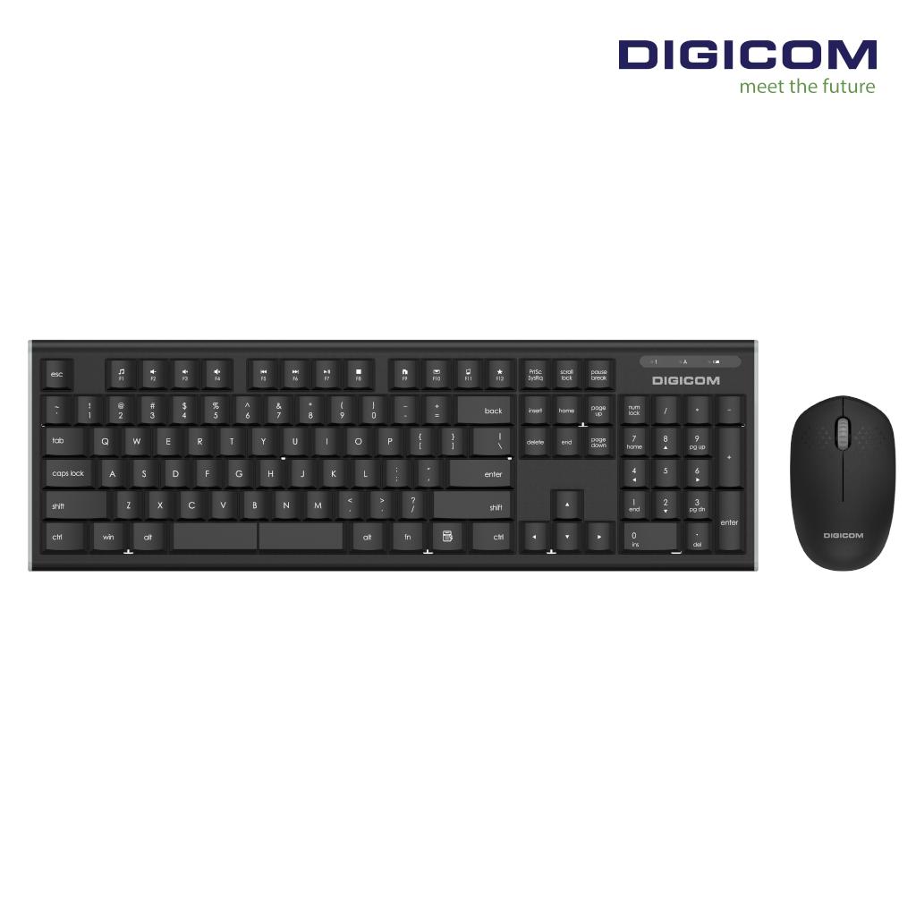 DIGICOM Wireless Keyboard + Mouse Combo DG-K75