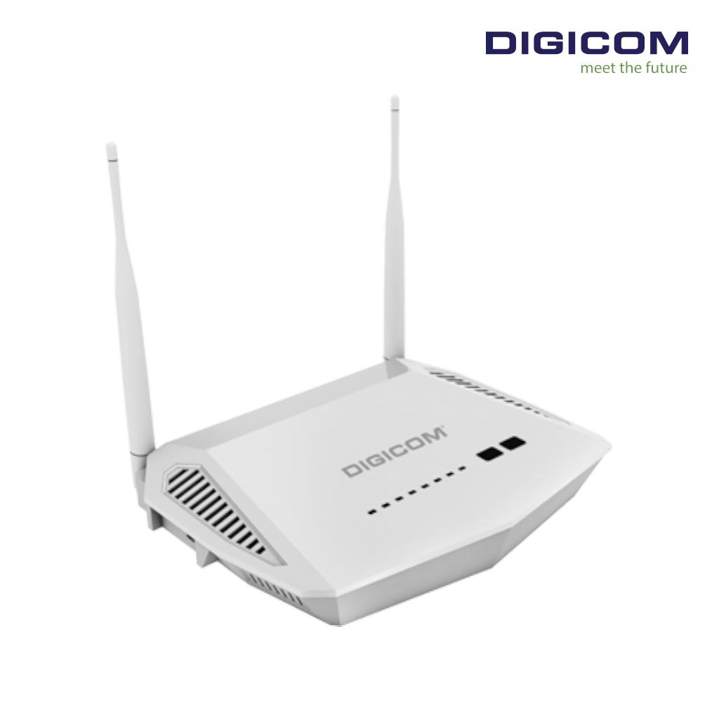 DIGICOM 300Mbps ADSL 2/2+Modem Router DG-ZA204M