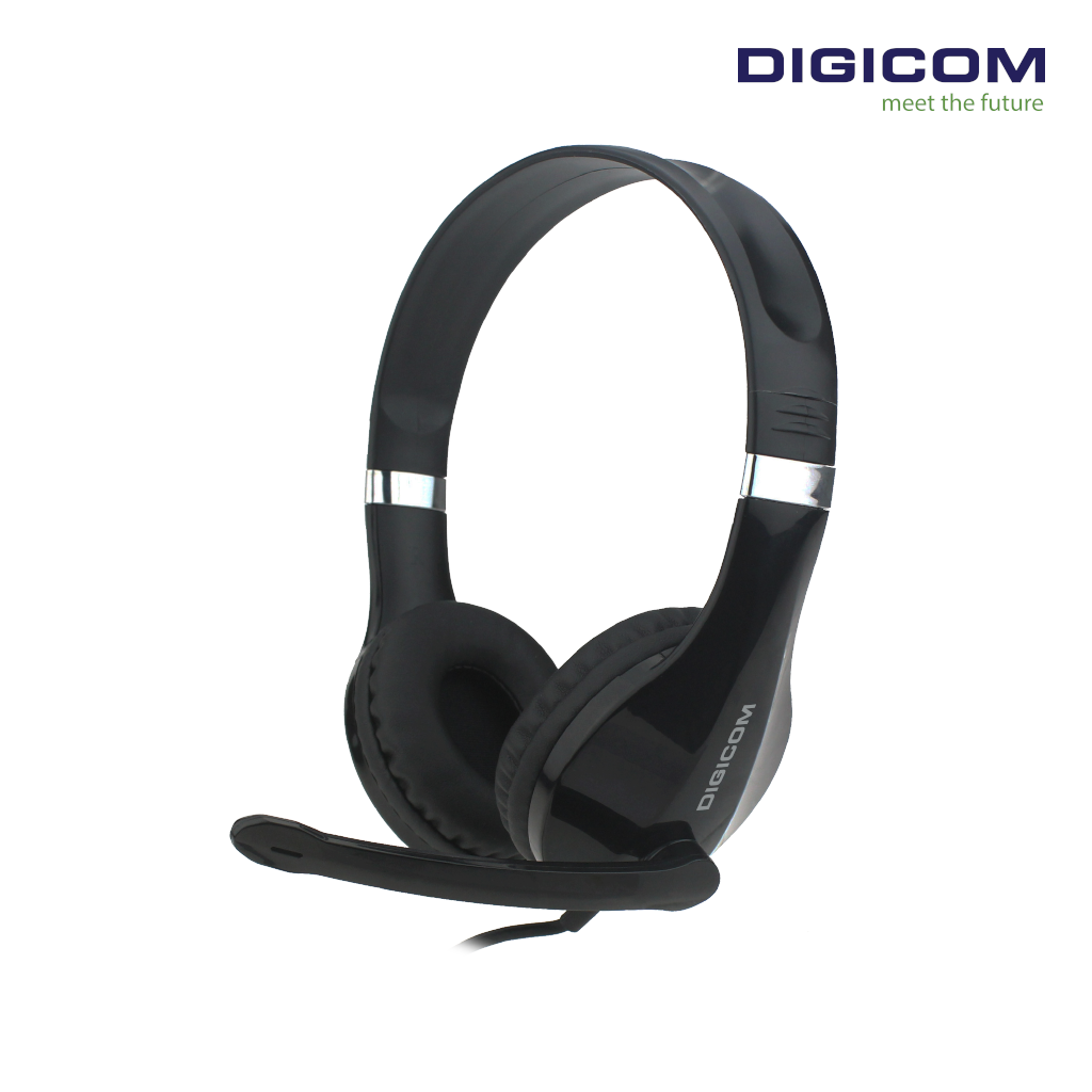 Digicom PC-18 USB Wired Headset With Mic