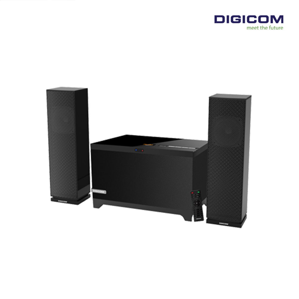 DIGICOM 2.1 channel Bluetooth Multimedia Speaker DG-T550BT