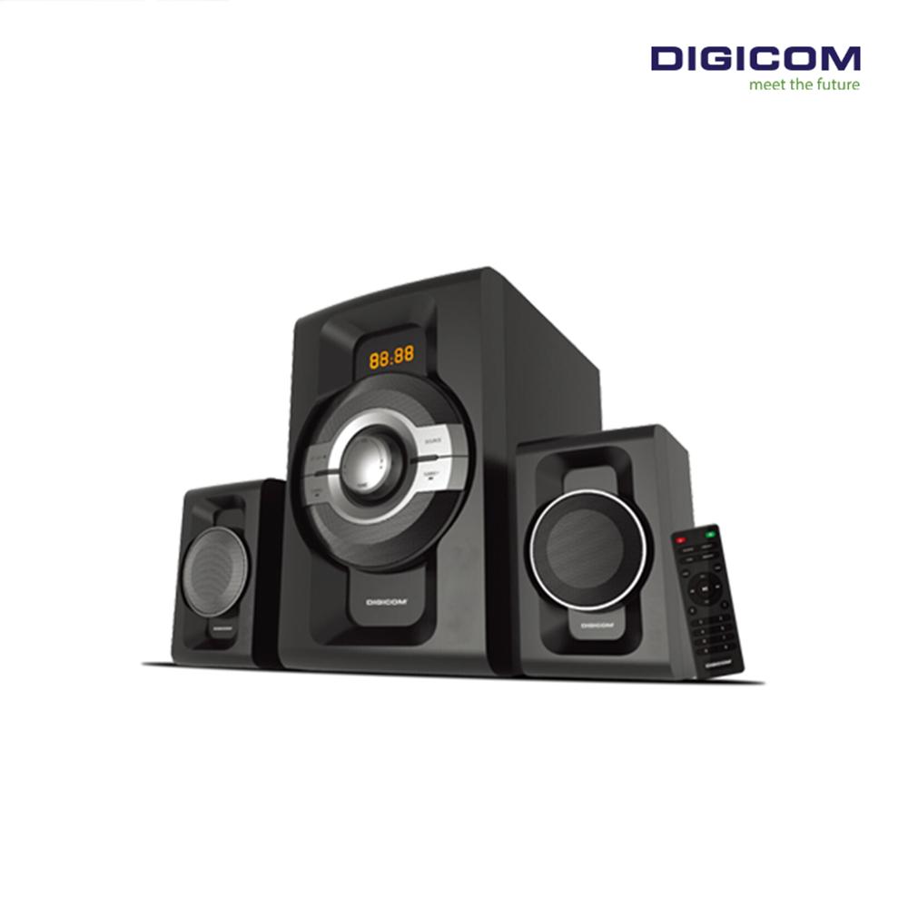 DIGICOM 2.1 Channel Bluetooth Multimedia Speaker DG-Z700BT
