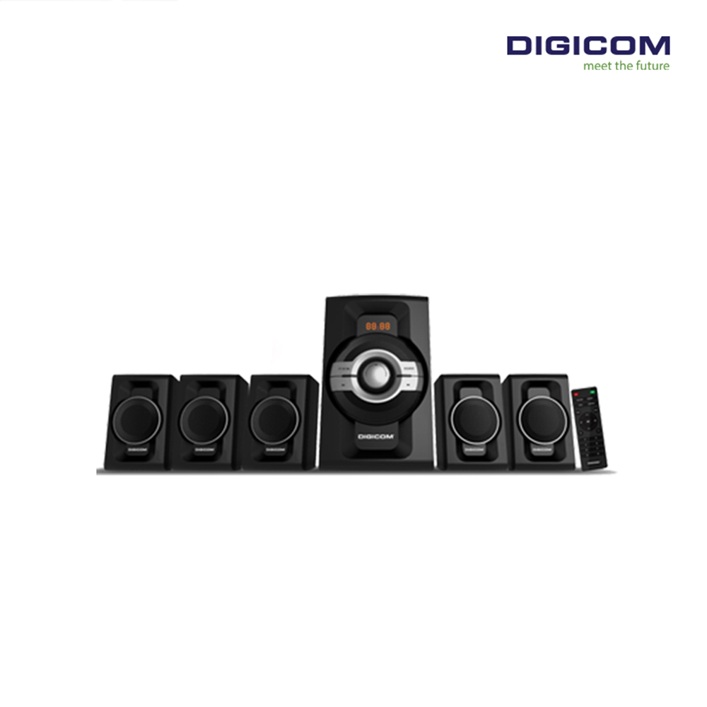 DIGICOM 5.1 channel Bluetooth Multimedia Speaker DG-Z750BT