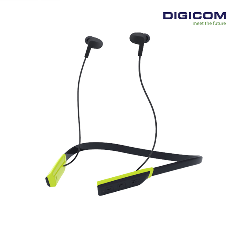 DIGICOM Bluetooth Neck Band In-Ear Headphone Flex 3