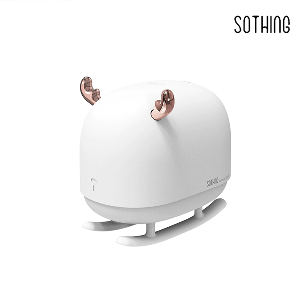 SOTHING Sleigh Deer Humidifier With Light